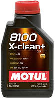 Моторное масло Motul 8100 X-CLEAN+ SAE 5W30 (1L)
