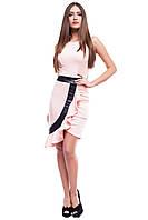 Женское персиковое платье Амира