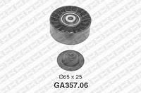 Ролик приводного ремня Skoda 38145276 (производство NTN-SNR ), код запчасти: GA357.06