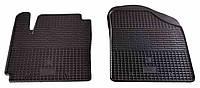 Резиновые передние коврики для Kia Picanto II (TA) 2011- (STINGRAY)