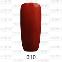Гель-лак Adore Professional № 010 (молочный шоколад) 9 мл ADR 010/96