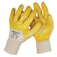 Перчатки нитриловые маслобензостойкие Serwus