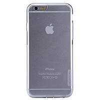 Чехол накладка силиконовый TPU Nillkin Nature 0.6 мм для Apple iPhone 6 6S Plus 5.5 прозрачный