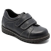 Школьные ортопедические туфли для мальчиков, на липучке, размер 27-35