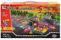 Детская пожарная парковка Р0488