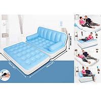 Intex  75038 Надувной диван-трансформер 5 в1  с насосом