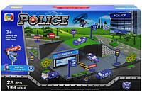 Детская полицейская парковка Р0688