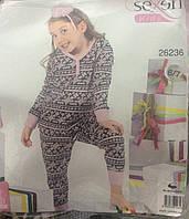 Детская пижама для девочки Sexen