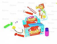Набор Доктора игрушка + мрамора драже 6 шт