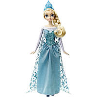 Кукла Дисней Эльза поющая из м/ф Холодное сердце, Disney Frozen Elsa Singing Doll (Mattel)