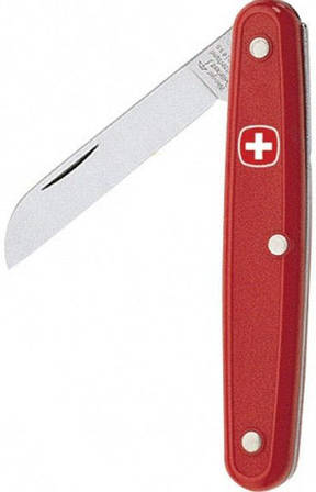 Швейцарский складной нож Wenger Classic Graft 1 75 00 красный