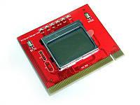 PCI пост карта тестер матер плат PCI post card LCD F98