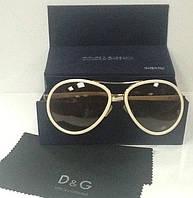 Очки Dolce&Gabbana солнцезащитные белые .
