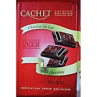 Бельгийский шоколад CACHET «32 % CACAO»300 г