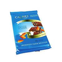 Бельгийский шоколад CACHET «With Almonds»300 г