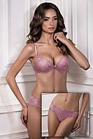 Комплект кружевного нижнего белья сиреневого цвета COCO 1150/70 ANGELINA 2215/70 Jasmine lingerie