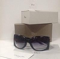 Очки Christian Dior солнцезащитные черные