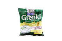 Сухарики ТМ Фитто сметана с зеленью 80 гр