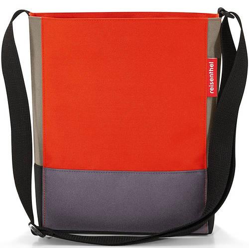 Яркая сумка patchwork на 4,7 л Reisenthel HY 3043-mandarin