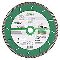 Круг алмазный Distar Turbo Elite Aero TS30H 230 мм отрезной диск по граниту и базальту для УШМ, Дистар Украина