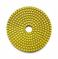 Круг полировальный 100x3x15 №1500 Baumesser Standard (зерно №1500), гибкий полировальник для гранита и мрамора