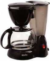 Кофеварка Magio MG-344, индикатор уровня воды, за один раз 4 чашки кофе, капельная кофеварка