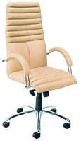 Кресло для руководителя Galaxy Steel Chrome / Галакси Стил Хром Nowy Styl (с полированной алюминиевой базой)