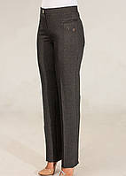 Женские брюки 48-64 серые