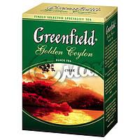 Чай Greenfield Golden Ceylon (Чёрный), листовой, 100 г.
