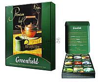 """Чайный набор """"GreenField"""" Ассорти, 9 видов заварки"""