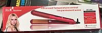 Утюжок для волос керамический, GT-918 код 918 АКБ