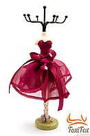 Подставка - вешалка для украшений в виде платья