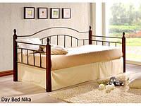 Односпальная кровать Nika / Ника Onder metal 90х200