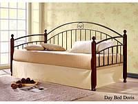 Односпальная кровать Doris / Дорис Onder metal 90х200
