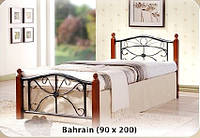 Односпальная кровать Bahrain / Бахраин Onder metal 90х200