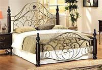 Двухспальная кровать Valeri / Валери Onder metal 180х200