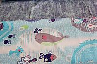 Детское постельное белье из сатина Морской мир