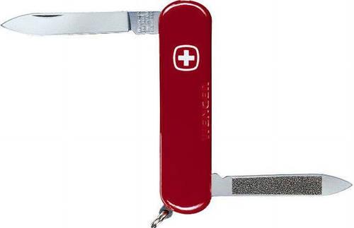 Армейский карманный складной нож Wenger Executive 1 80 11 красный