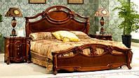 Кровать двухспальная Leonardo / Леонардо натуральное дерево AMD 180х200