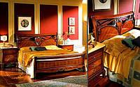 Кровать двухспальная Marie Claire / Мэри Клэр натуральное дерево AMD 160х200