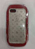 С камнями LV soft drill shell for iPhone 5/5S, silver