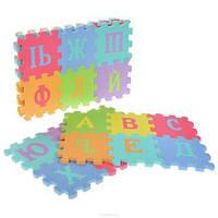 Детский коврик пазл русский алфавит Азбука