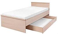 Детская кровать с ящиком LOZ/90 Нумлок / Numlock BRW