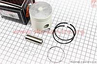 Поршень  52 мм STD кольца, палец 14 мм  на скутер Yamaha BWS/AEROX- 100 сс