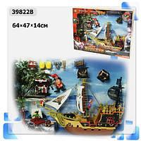 Пиратский набор 39822B корабль, аксесс., в коробке 63*13*47см