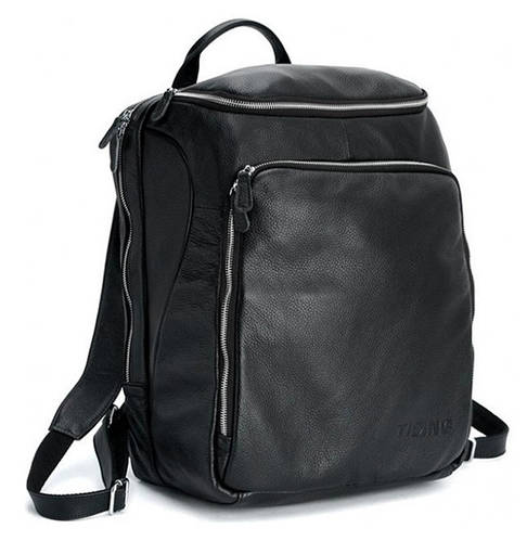 Мужской рюкзак из натуральной кожи  TIDING BAG t3065