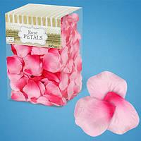 Искусственные лепестки роз розово-фиолетовые, лепестки на свадьбу.