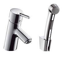 Набор для биде (гигиенический душ и смеситель) Hansgrohe Talis S