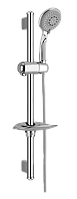 Душевая штанга L-63 см + ручной душ Imprese Jizera 6612004