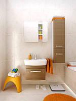 Комплект мебели для ванной Cersanit Pure 60 светлый орех